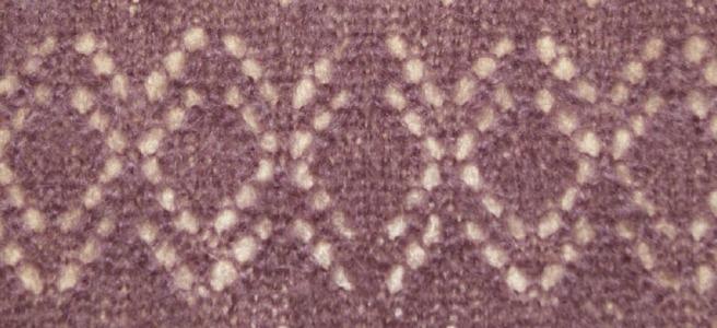 calado bufanda tricot mohair