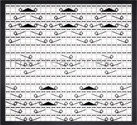 calado punto tricot
