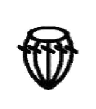 simbolo punto bodoque crochet