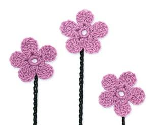 flores de primavera crochet