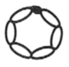 anillo cadeneta crochet