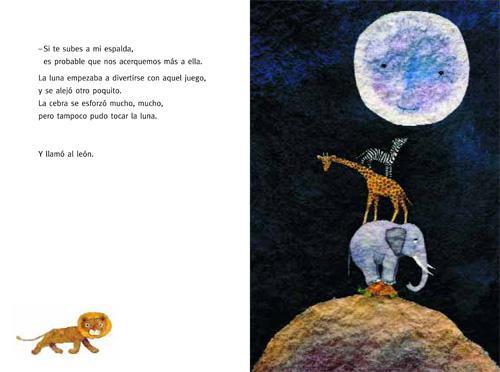 ¿A qué sabe la luna? de la editorial Kalandraka