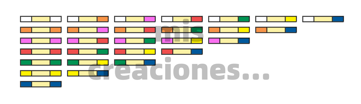 como pintar fichas de domino