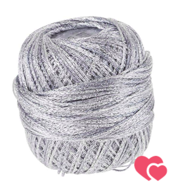 algodón o lana plateada