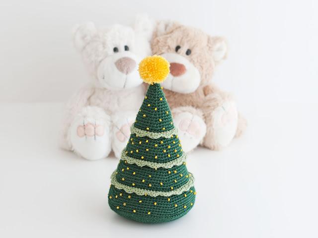 mis pequicosas Amigurumi Arbol navidad crochet