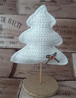 Patrigurumis arbol navidad gratis crochet