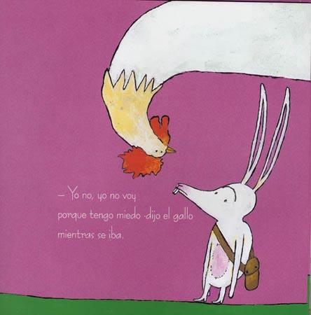 kalandraka, 9788484645658, el pequeño conejo blanco