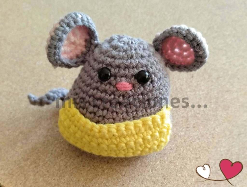 amigurumi ratón pérez