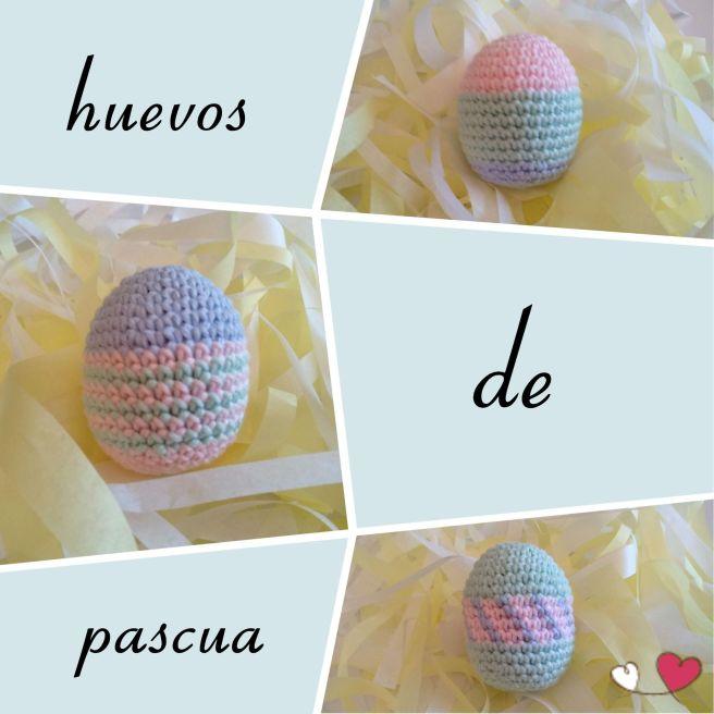 patrón gratis amigurumi, huevos de pascua